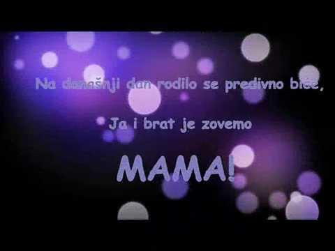 sretan rođendan mama stihovi Sretan ti rođendan mama!   YouTube sretan rođendan mama stihovi