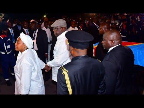 La dépouille d'Étienne Tshisekedi est arrivée à Kinshasa