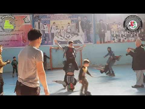 فدراسیون اسکیت پایتخت افغانستان  inline skate federation capital Afghanistan