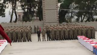 Dağcılık Gösterisi-Manisa Kırkağaç 6. Jandarma Komando Eğitim Alay Komutanlığı