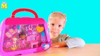 Огромная сумка доктор плюшева игрушки внутри /  Huge doc mcstuffins Bag Plush toys inside