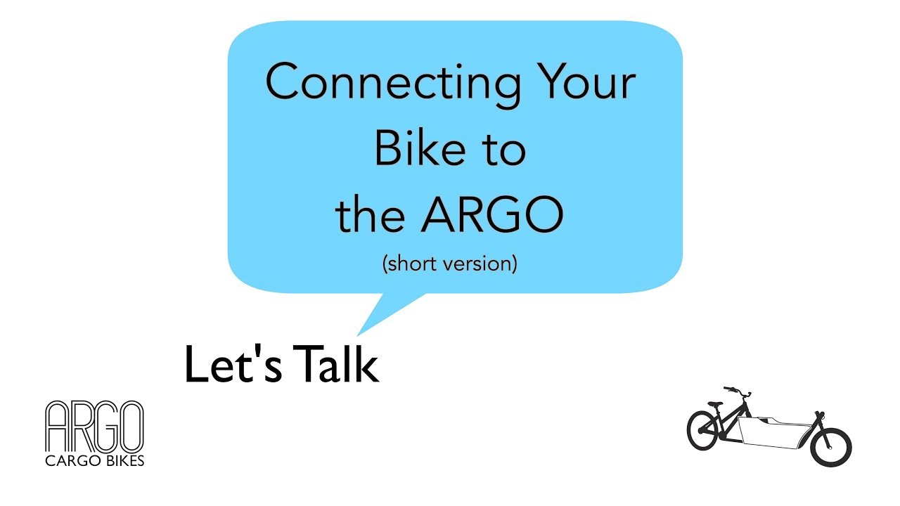 Front-Loading Cargo Bike Kit | The ARGO Cargo Bike (formerly LIFT