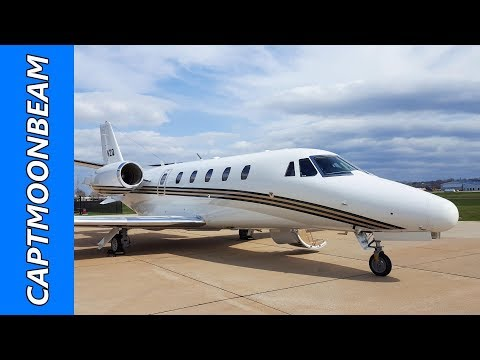 Cessna Citation XLS Four Day Trip to Tampa and Moline