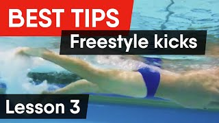 FREESTYLE KICK: BEST TIPS FOR IDEAL TECHNIQUE