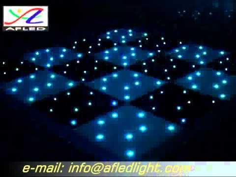 DMX 512 LED RGB Chess dance floor