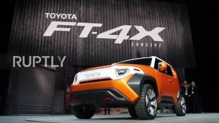 USA  Toyota invites people to take 'rugged' FT 4X concept car on an adventure