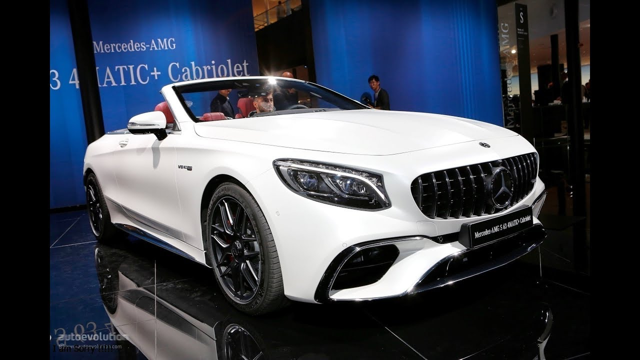 Supercar 2018 Mercedes Benz Mercedes Amg S Class Coupe And