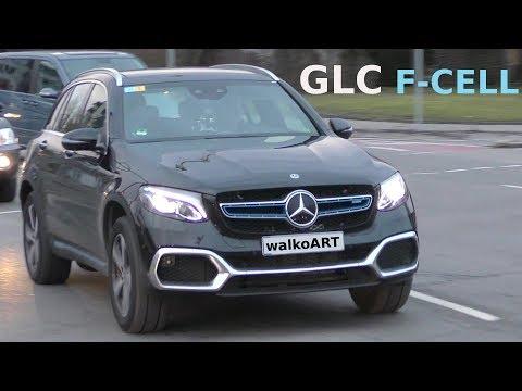 Mercedes Erlkönig GLC F-CELL 2018 ungetarnt auf der Straße - undisguised on the road 4K SPY VIDEO
