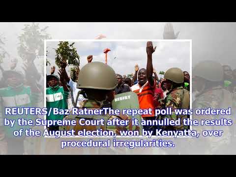 At least five killed in kenya as violence greets opposition leader's return