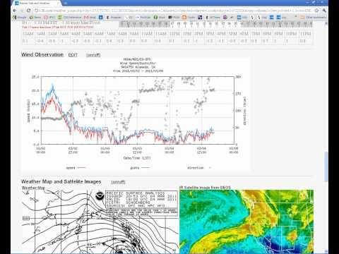 Free Marine Weather Web Site