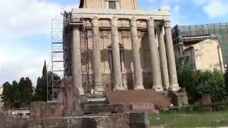 Rome Рим прекрасен всегда(Рим. Обзорная экскурсия по Риму Пантеон 1800 лет, сохранился великолепно, Гробница Рафаэля. Посещаем римские..., 2014-11-09T13:51:08.000Z)