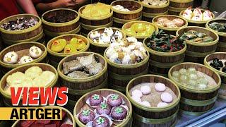 Street Food Views: Shanghai Food Tour | Chinese Burger, Baozi, Shaomai, Dim Sum, Coconut Juice