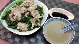 Chinese Recipe : Watercress Soup With Fish Paste