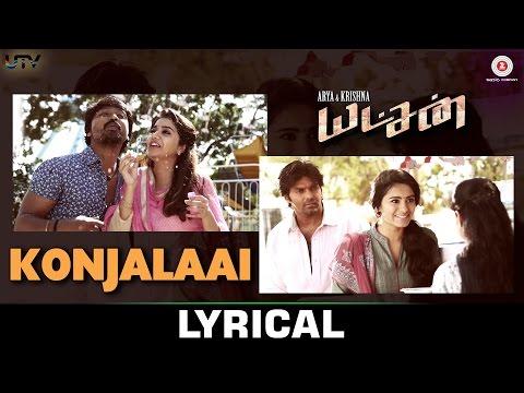 Konjalaai Lyrical - Yatchan | Arya, Krishna & Deepa Sannidhi | Yuvan Shankar Raja & Tanvi Shah