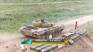 Третий заезд полуфинальной эстафеты «Танкового биатлона» АрМИ-2020