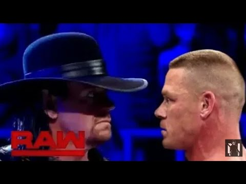 Download Undertaker makes his shocking returns and attacks John Cena: Raw, March. 26 , 2018