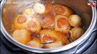 THỊT KHO TÀU - Instant Pot - Kho thịt nhanh mềm tiết kiệm Điện - Món ăn Tết by Vanh Khuyen