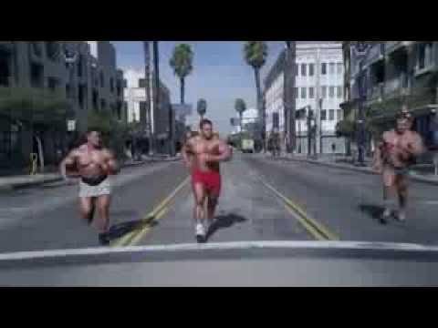 Funny Go Daddy Bodybuilding spray tan commercial