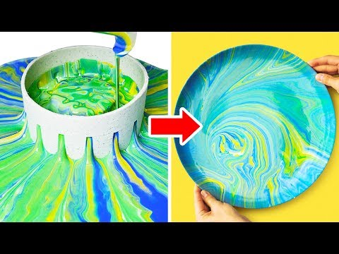 18 LOVELY DIY PLATES AND CUPS DECOR