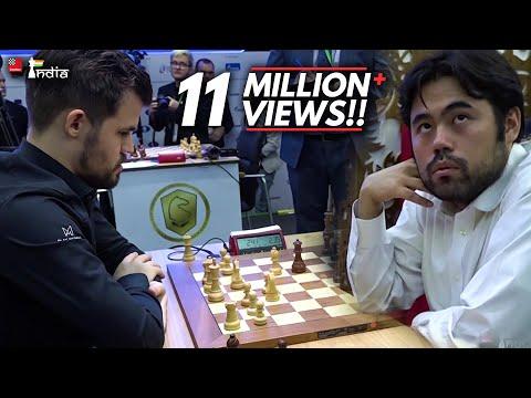 The Title Game | Magnus Carlsen Vs Hikaru Nakamura | World Blitz 2019 Playoff Game 2