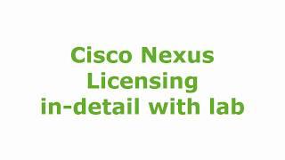How to add cisco nexus 9000 image etiketli videolar - VideoBring