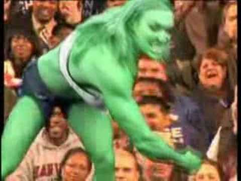 Obama Girl Vs Mccain Girl Incredible Hulk Spoof Funny Youtube