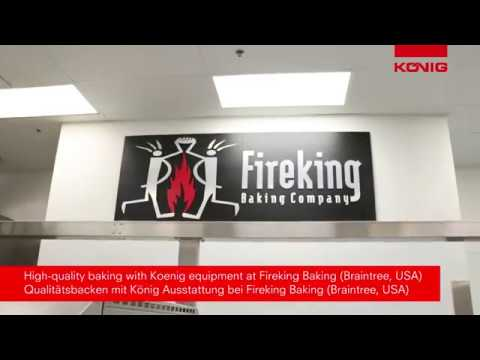 Koenig @ Fireking Baking - High Quality Bread And Buns Production With Koenig Equipment