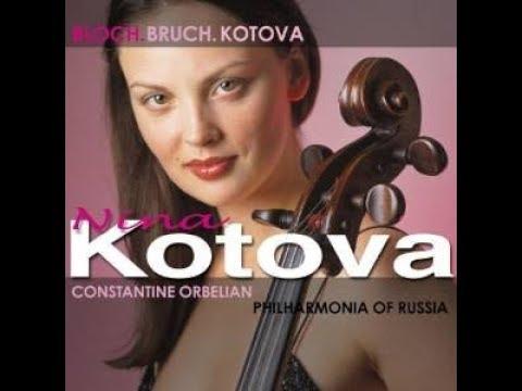 """Nina Kotova. Bloch."""" Schelomo"""", Rhapsodie hébraïque pour violoncelle et grand orchestre."""