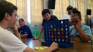 Connect Four Gold Medal Match