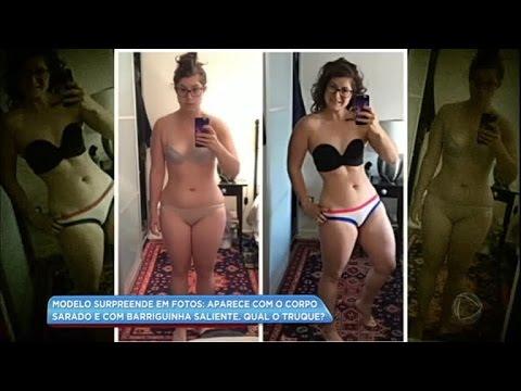 Aprenda truques para aparecer magra nas fotos