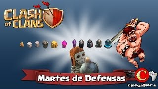"Clash of Clans #MartesdeDefensas ""Muros"""
