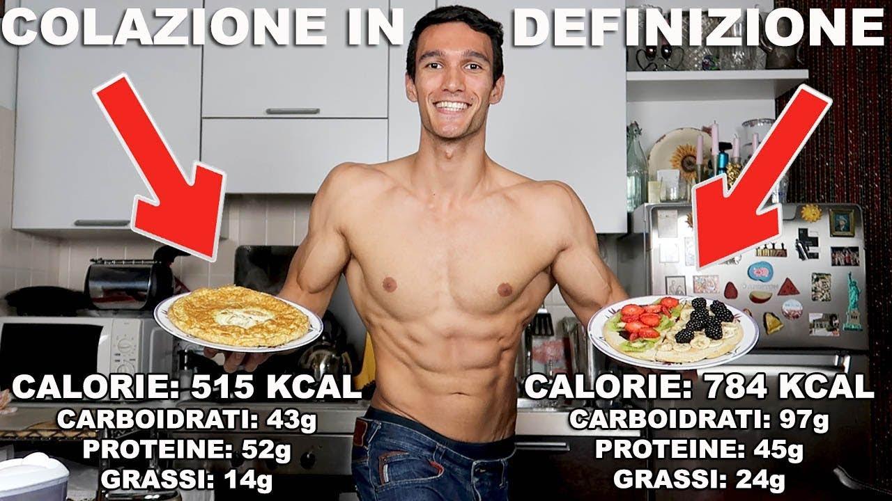colazione senza carboidrati bodybuilding