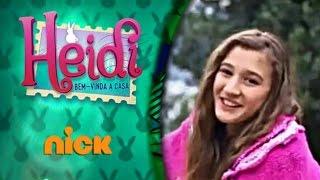 Heidi, Bem-Vinda à Casa T01E01 - Heidi, Das Montanhas Para a Cidade | Nickelodeon Brasil