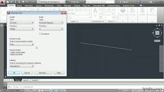 AutoCAD 2014 tutorial: Defining a unit of measure | lynda.com