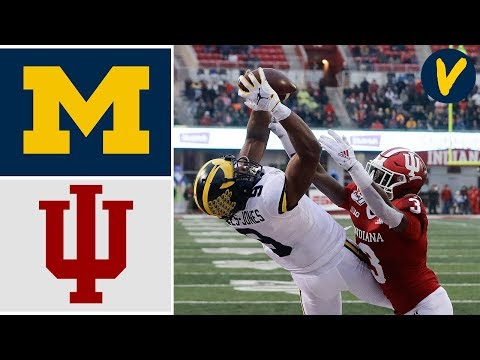 #13 Michigan Vs Indiana Highlights   Week 13   College Football 2019
