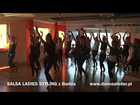 Salsa Ladies Styling z Barbra w Dance Atelier