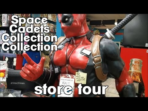 Space Cadets Collection Collection- Houston, Texas [Toy Store Tour]