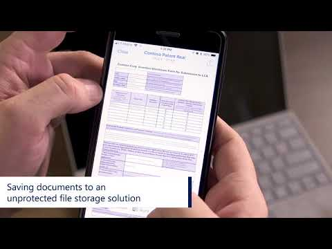 Microsoft 365 Business: Data Protection On Mobile Devices