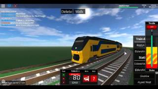 Roblox Elder Terminal/Terminal Railways: Introducing the VIRM!