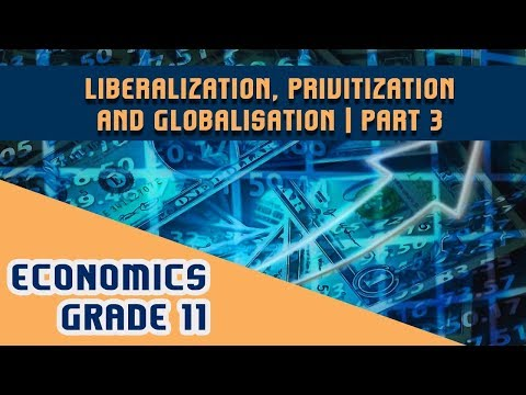 Economics Chapter 3 | Part 3 | Liberalization, Privitization and Globalisation - Privitization