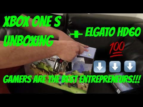 Xbox One S Unboxing Minecraft Bundle + Elgato HD60 Unboxing – Gamers=Good Stock Traders entrepreneur