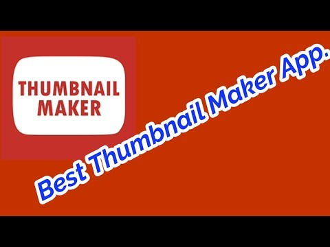 Best Thumbnail Maker App On Android.😊