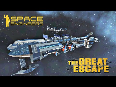 "Space Engineers: ""The Great Escape"" Escape Pod Retreat"