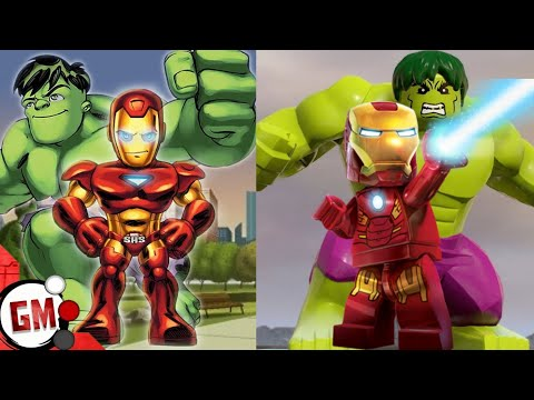 Making Good Marvel Toys Into Bad Games