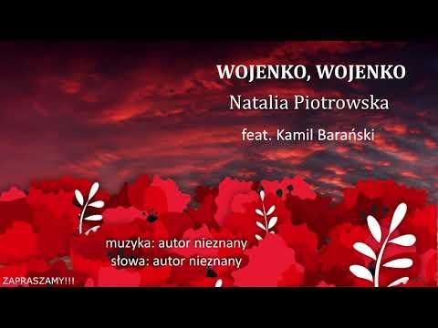 """inne – Wojenko, wojenko – Natalia Piotrowska. Album: """"Uwięziony ptak nie śpiewa""""; produkcja muzyczna: Kamil Barański. 2020-2021"""