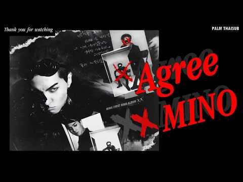 [THAISUB] MINO - AGREE (암) Lyrics/Karaoke (Eng | Rom)
