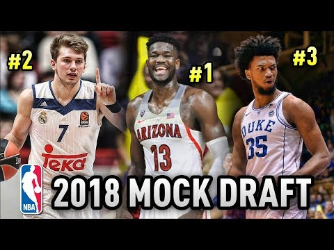 2018 NBA Mock Draft (Post NCAA Tournament) | Who Will Go #1?