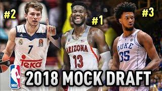 2018 NBA Mock Draft (Post NCAA Tournament) | Who Will Go #1?