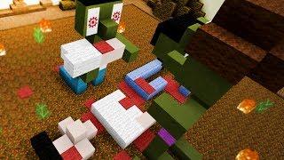 ZOMBIES DEVORANDO HUMANO!! (Build Battle con Vegetta)