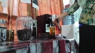 coffee machine how to use